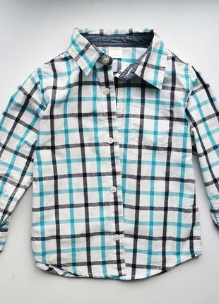 Рубашка мальчику лёгкая gymboree 3t