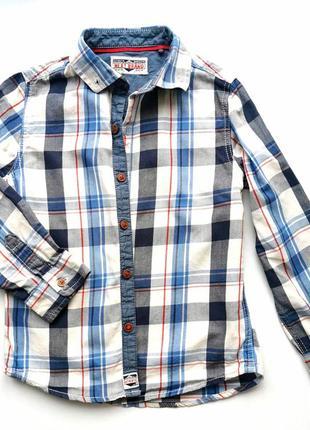Рубашка мальчику next на 4-5лет