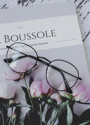 Очки женские имиджевые имидж  шестиугольники окуляри ретро