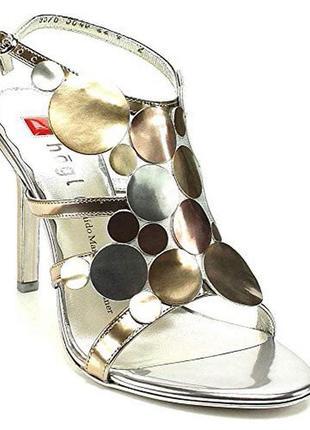Туфли босоножки hogl дизайнерские на каблуке шпильке на выпускной свадьбу  36 38 39 40