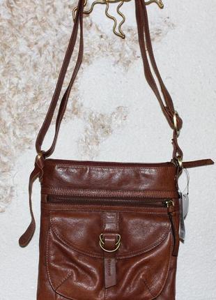 Кожаная сумка f&f signature, новая, англия