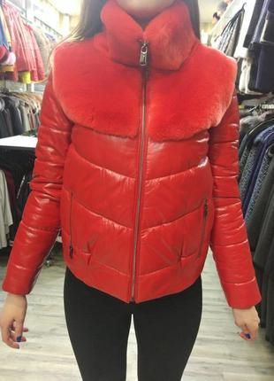 Курточка с шиншилой
