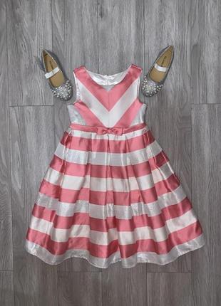 Красивое нарядное платье, платье на выпускной,выпускное платье, стильное розовое платье