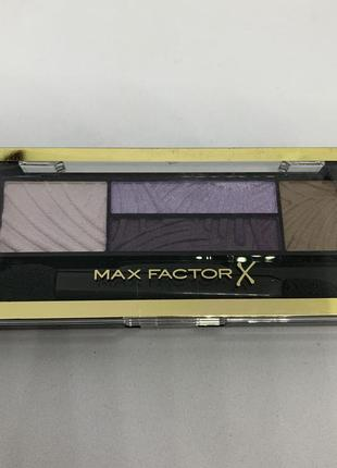 Палетка теней max factor 04 luxe lilacs