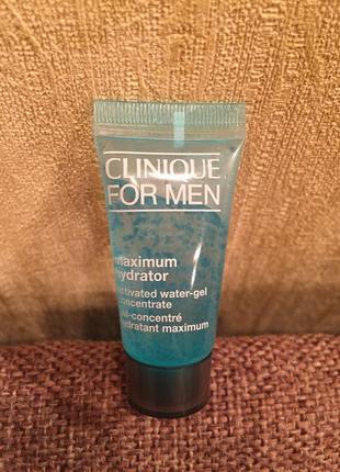 Clinique for men maximum hydrator активный гель-концентрат