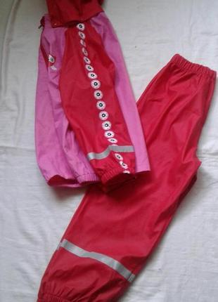 Влагозазащитный костюм для девочки 7-8 лет