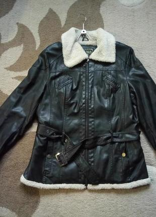 Куртка с экокожи