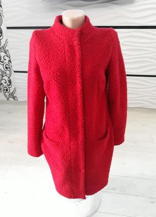 Пальто без подкладки ткань барашек