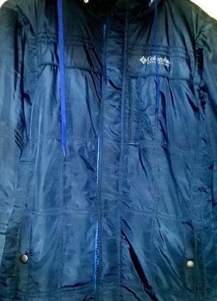 Весенне - осенняя курточка трансформер на синтепоне с карманами и капюшоном