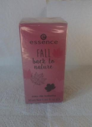 Туалетная вода essence fall back to nature #розвантажуюсь