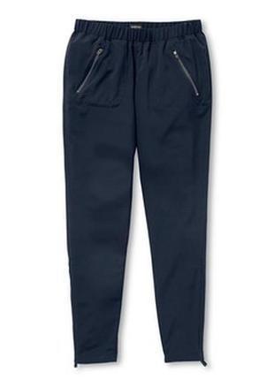 Мягкие и качественные брюки с замочками от tchibo(германия), 38евро=44-46