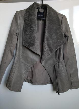 Косуха куртка кожаная экокожа