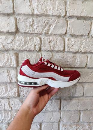 Nike airmax 95 бордовые