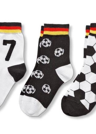 Комплект хлопковых носочков - 4 пары - tchibo, германия - р. 43-47