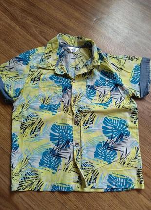 Рубашка 2-4года