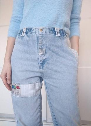 Mom jeans мам джинси
