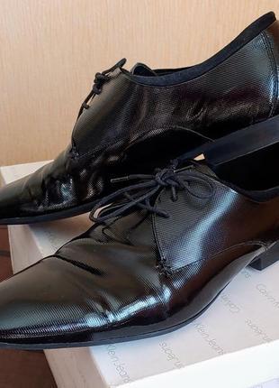 Туфли лаковые zara man