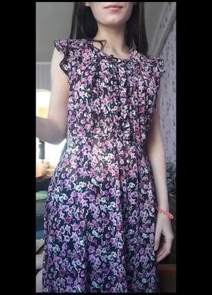 Легкое летнее платье  marks&spencer