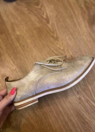 Женские туфли оксфорды