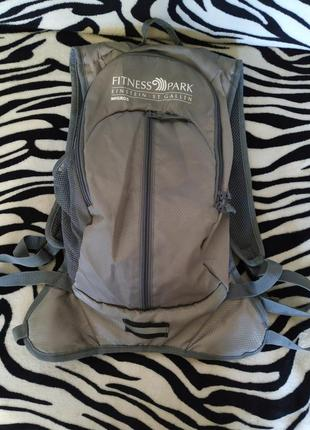 Удобный спортивный рюкзак fitess park migros 🚴🌠