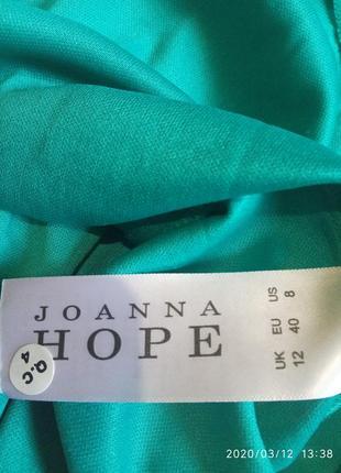 Очень красивое гипюровое платье цвета морской волны joanna hope8 фото