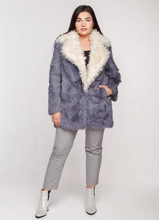 Куртка из меха козлика