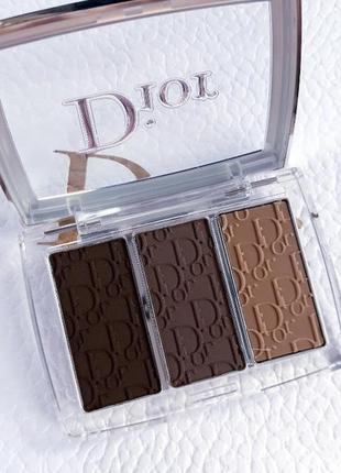 Dior backstage тіні для брів