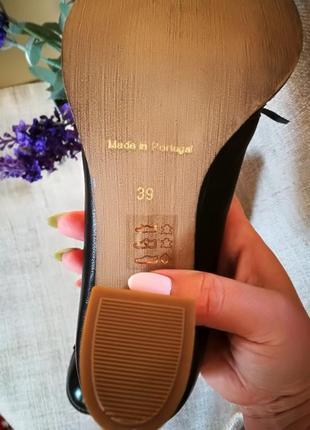 Португальские кожаные туфли office 38-396 фото