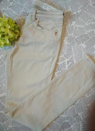Светлые узкие джинсы esprit