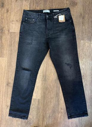 Мужские джинсы pull&bear, черные