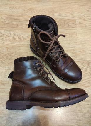 Ботинки натуральная кожа firetrap