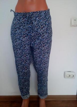 Літні штани у квітковий принт.(індія).