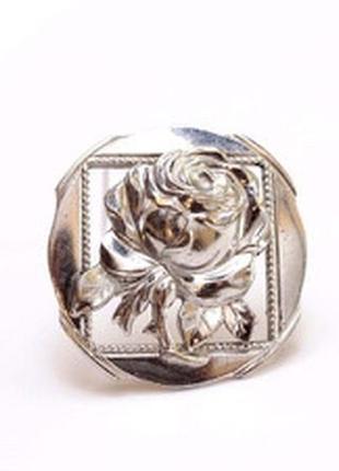 Брошь «романтичная роза» американская