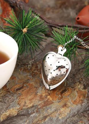 Заварник - сердце для чая прикольный фильтр для чая ситечко