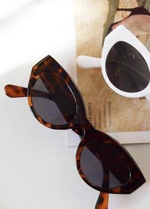 Стильные леопардовые очки