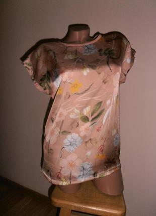 Красивая блуза, футболка от zara