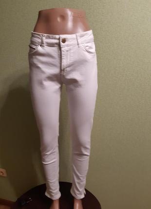 Белые базовые джинсы zara