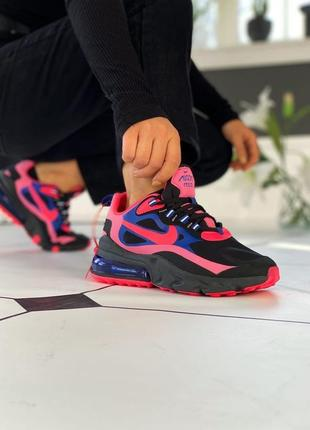 Кроссовки женские nike air max 270 black pink