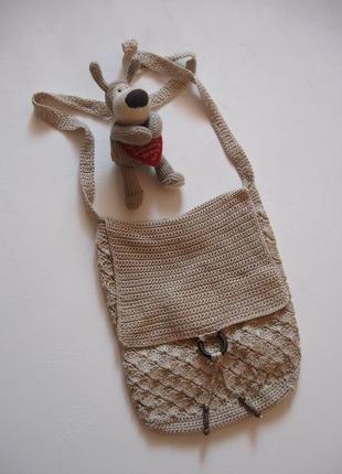Чисто летняя вязаная сумка - прекрасная вещь!