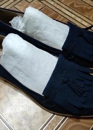 Крутые туфли лоферы marks&spencer 24 см