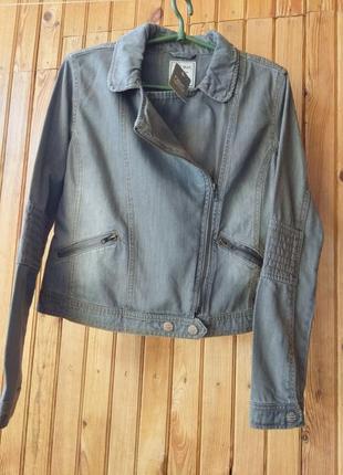 Косуха куртка пиджак джинсовая