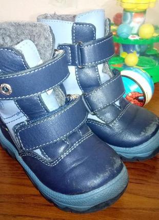 Детские ботинки котофей, зима