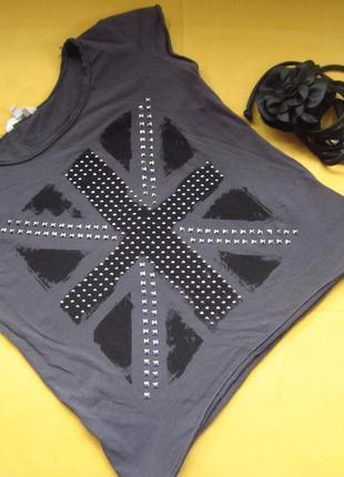 Clockhouse стильная футболка ,р.l