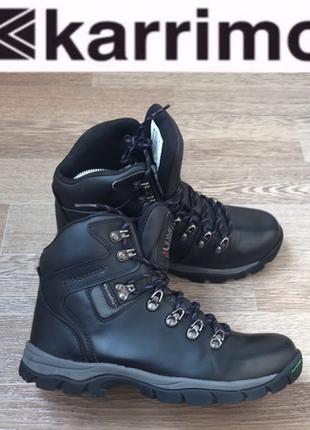Кожаные ботинки karrimor непромокаемые лёгкие