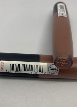 Стойкая жидкая матовая помада лореаль l'oréal loreal 1162 фото