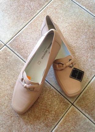 Туфли женские на широкую ногу