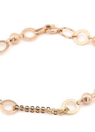 Золотой браслет *нинель*