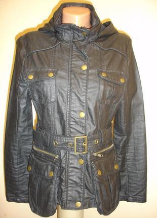 Весенняя куртка под кожу (next) 44-46 р. германия