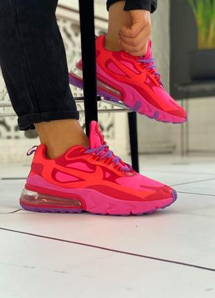"""Кроссовки женские  nike air max 270 react mystic """"red/bright"""""""