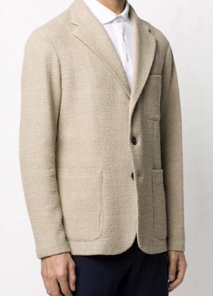 Жакет однобортный дизайнерский дорогой бренд италии barena размер 48 или l